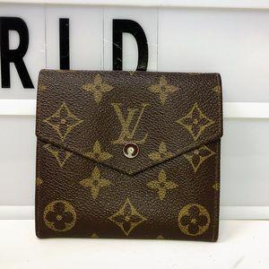 Louis Vuitton Elise Monogram trifold Small wallet